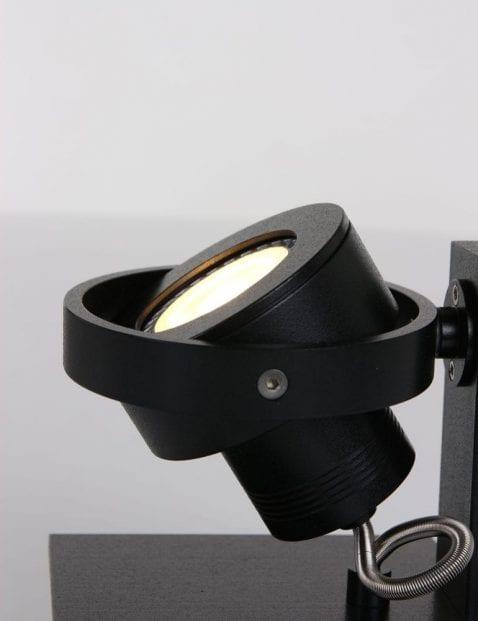 Zwarte moderne lamp plafond