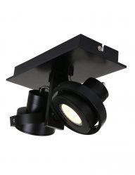Tweespot industriele plafondlamp