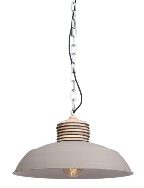 cremekleurige lamp
