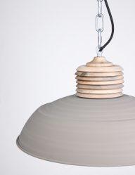 Cremekleurige hanglamp