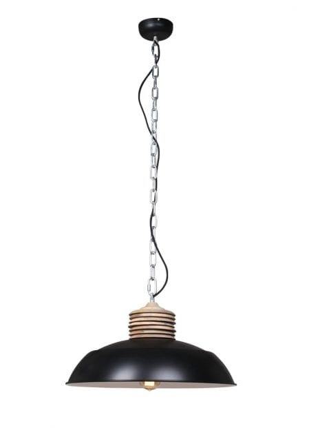 Grote eettafellamp zwart