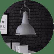 Industriele-hanglampen