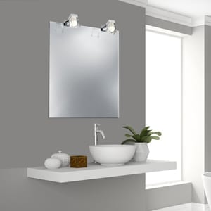 Spiegellampjes-chroom