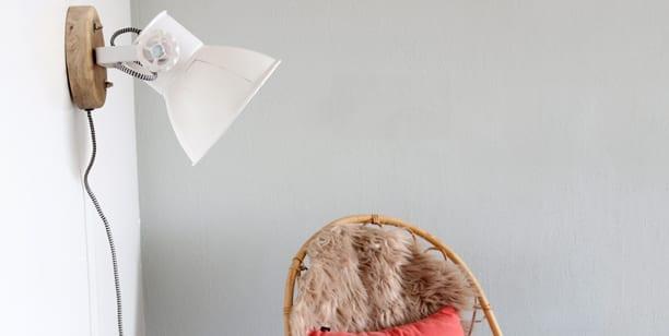 leeslamp wit