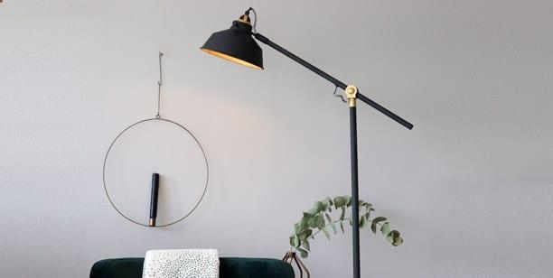 leeslamp-zwart