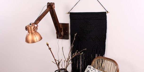 wandlamp-industrieel