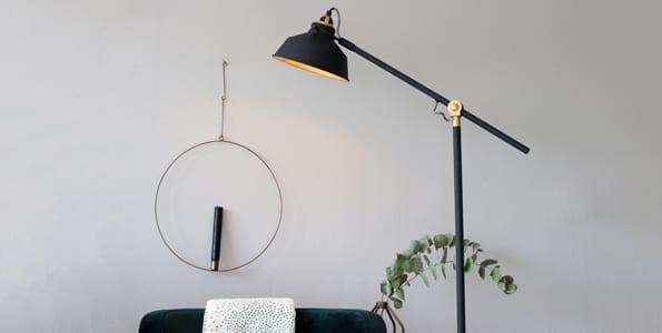 Woonkamer Staande Lamp : Vloerlampen van directlampen.nl altijd gratis bezorging!