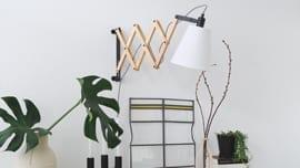 Wandlamp-wit