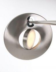 vloerlamp zilver