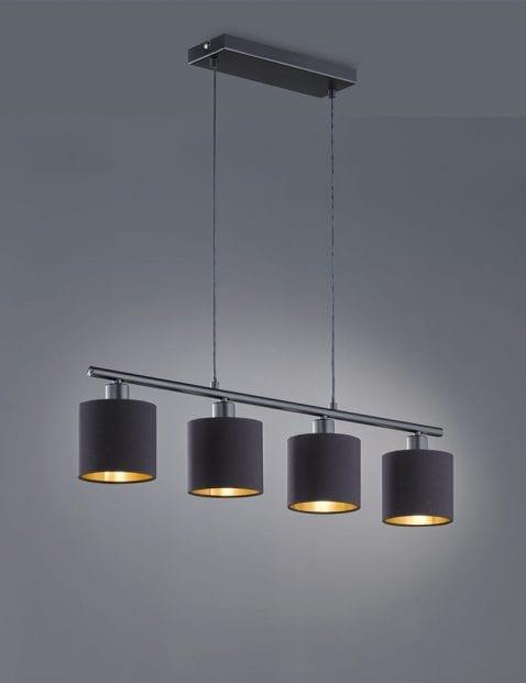 4lichts-hanglamp-met-gouden-binnenzijde-4