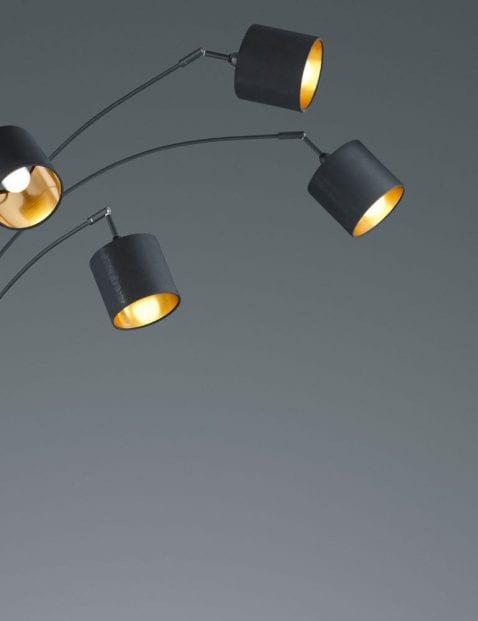 5lichts-vloerlamp-met-gouden-binnenzijde-1