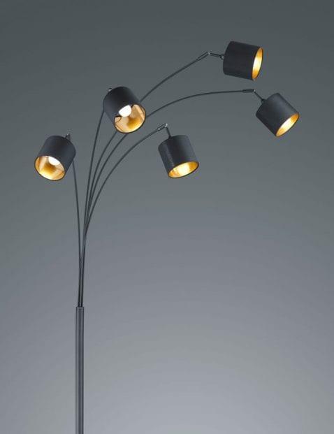 5lichts-vloerlamp-met-gouden-binnenzijde-2