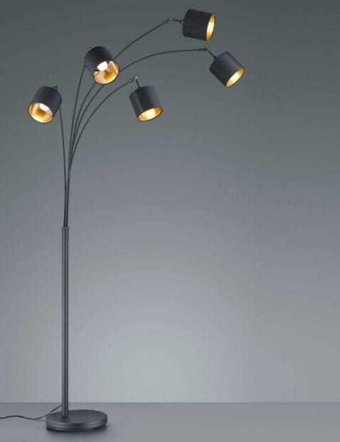 5lichts-vloerlamp-met-gouden-binnenzijde-4