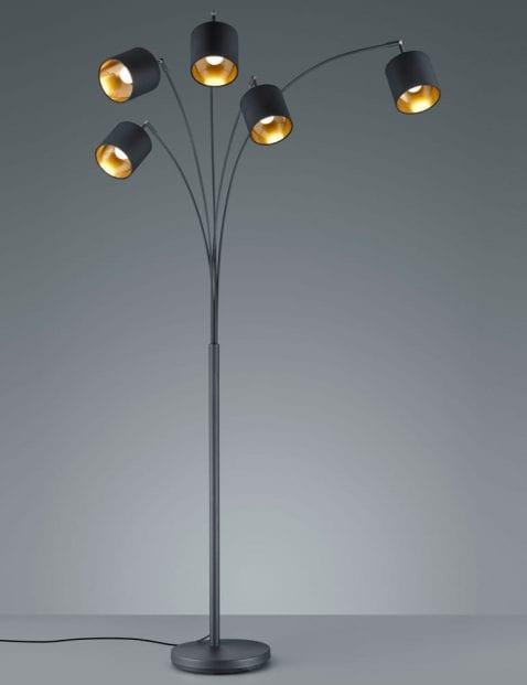 5lichts-vloerlamp-met-gouden-binnenzijde-5