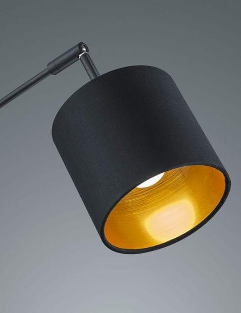 5lichts-vloerlamp-met-gouden-binnenzijde-6