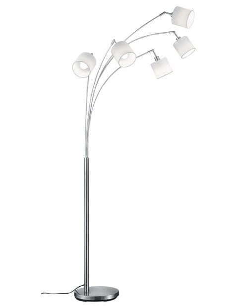 5lichts vloerlamp modern