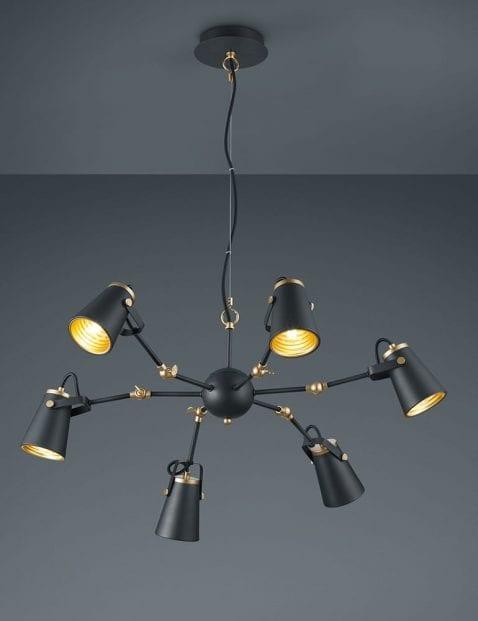 6lichts-hanglamp-met-gouden-binnenzijde-1