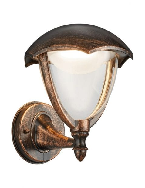 Bruine buitenlamp