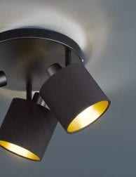 Drielichts-plafondlamp-zwart-met-goud-1