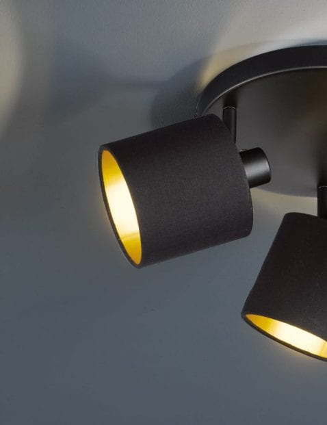 Drielichts-plafondlamp-zwart-met-goud-3