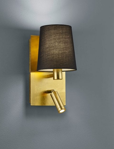 Goudkleurige-wandlamp-met-extra-leeslampje-1