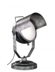 Schijnwerper tafellamp Trio Leuchten No.5 gestempeld staal
