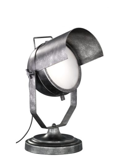 Industriële tafellamp met kantelbare kap