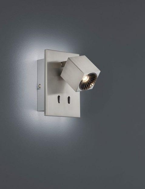 Kantelbare-wandlamp-staalkleurig-2