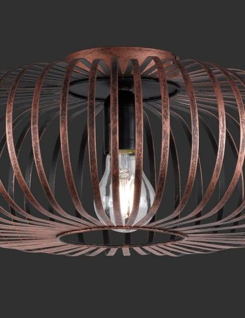 Koperkleurige-spijlen-plafondlamp-3