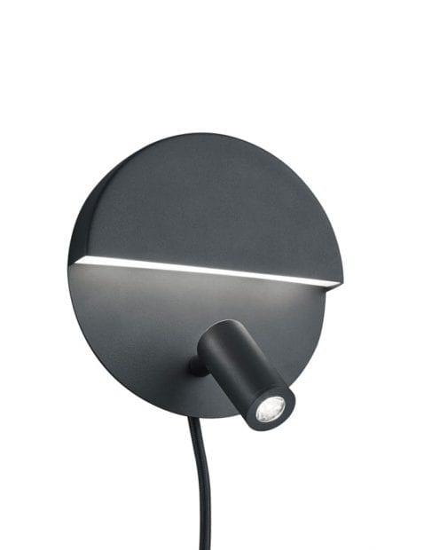 Praktische ronde wandlamp