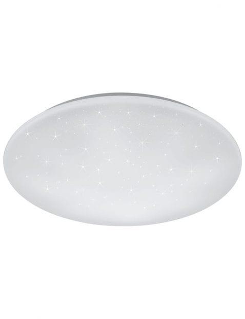Ronde plafondlamp wit