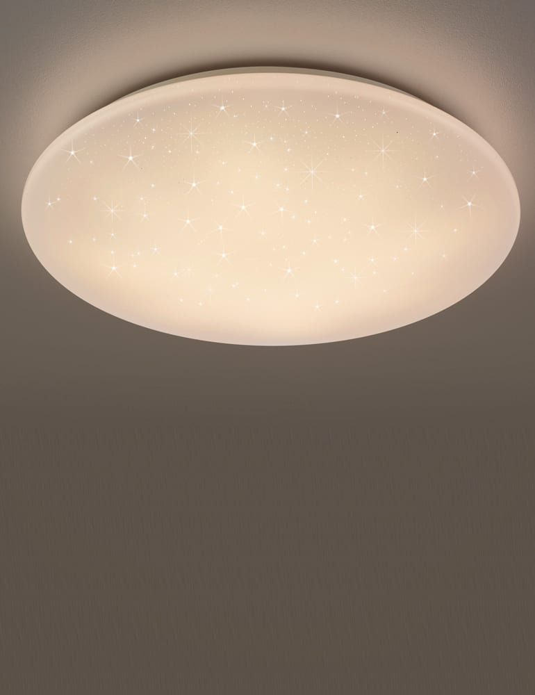 Bekend Ronde plafondlamp wit Reality Kato - Directlampen.nl IC02