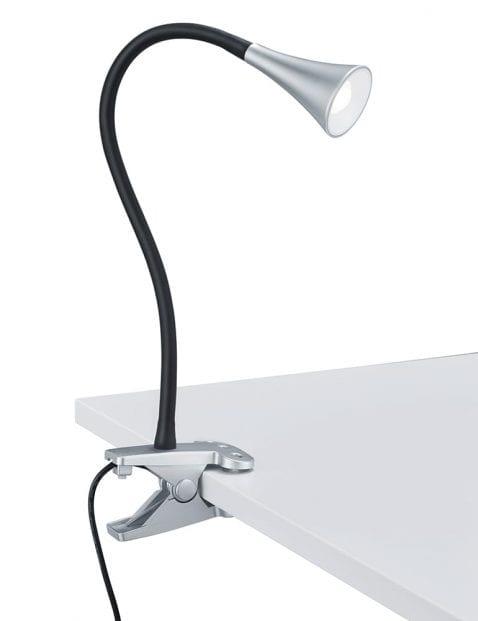 Stalen tafel klemlamp