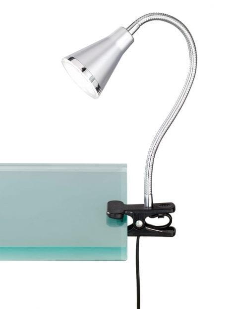 Verstelbare klemlamp tafel