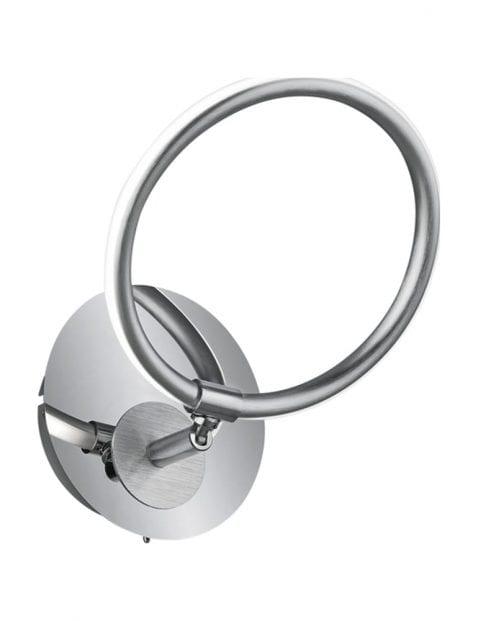 Wandlamp met ronde kantelbare kap