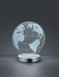 Transparante wereldbol lamp Reality Globe