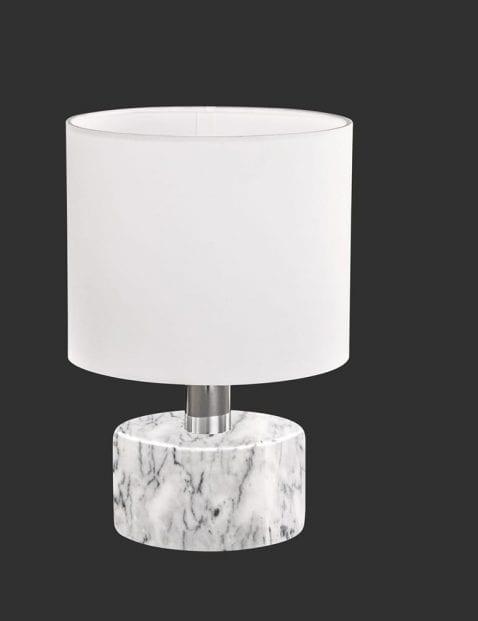 Witte-tafellamp-met-marmeren-voet-1
