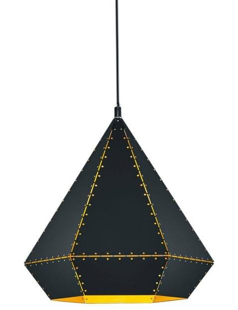 Witte triangel hanglamp