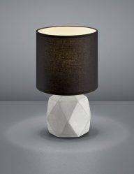 Zwarte-tafellamp-grijze-voet-1