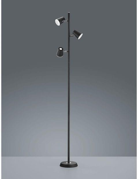 Zwarte-vloerlamp-drielichts-1