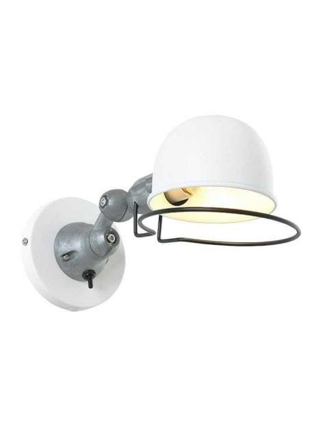 Witte wandlamp