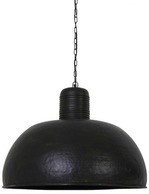 Bijzondere zwarte hanglamp