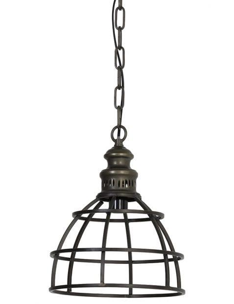 Bolvormige industriële hanglamp