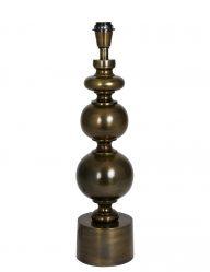 Bolvormige lampenvoet glanzend brons