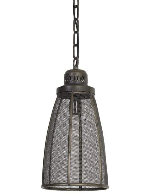 Bronzen langwerpige lamp