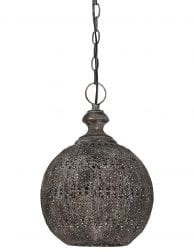 Bruine oosterse hanglamp met details