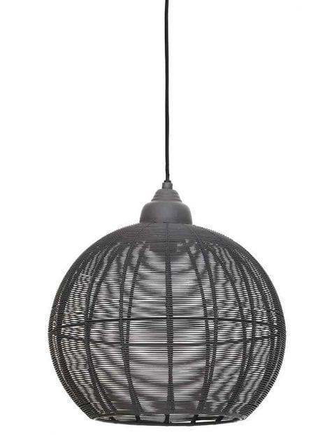 Cement grijze hanglamp