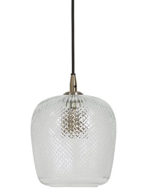 Chique glazen hanglamp