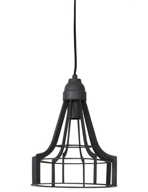 Chique hanglamp donkergrijs
