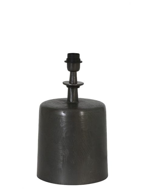 Cilinder lampenvoet zwart